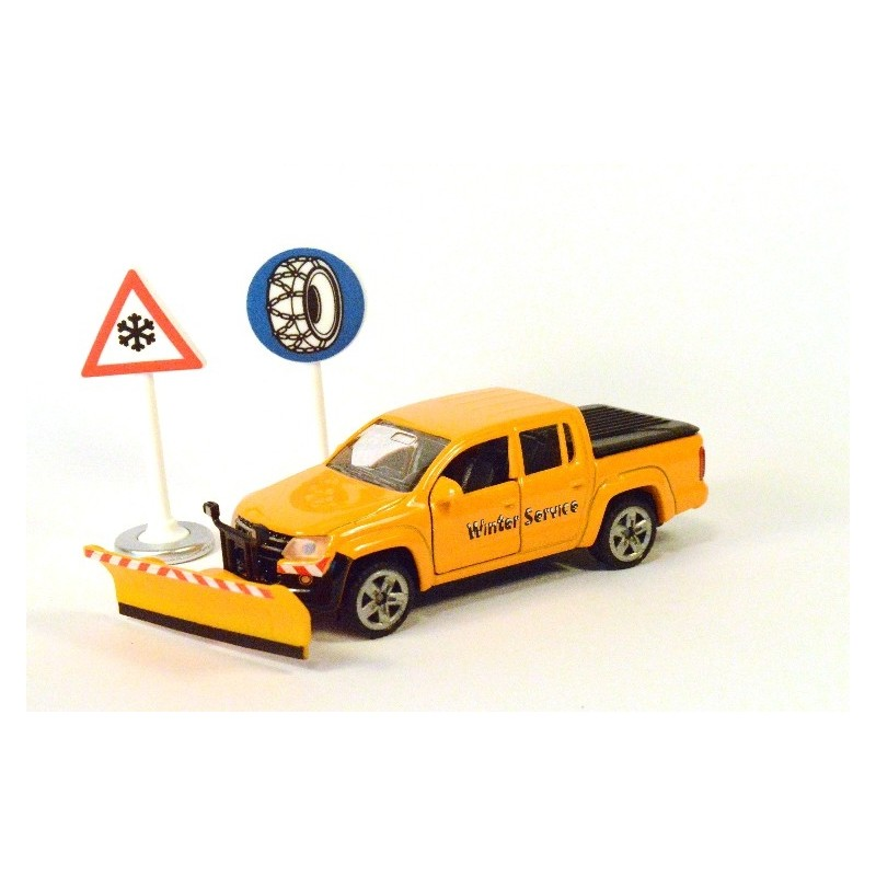 Volkswagen Amarok winter service