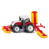 Steyr with Pöttinger mower combination