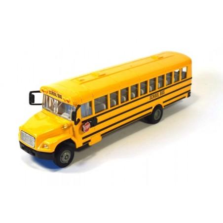 Bus scolaire américain