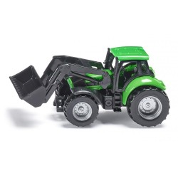 Deutz Agrotron with front loader