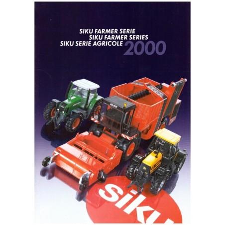 Nouveautés Siku Agricole 2000