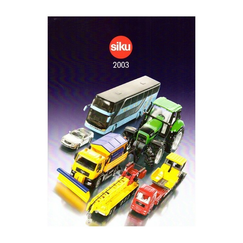 Siku catalogus A4 2003