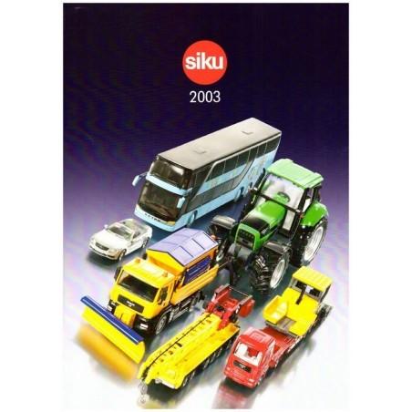 A4 Siku dealer catalogus 2003