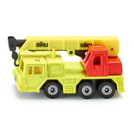 Hydraulic crane truck