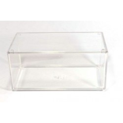 Small stackable model car display case