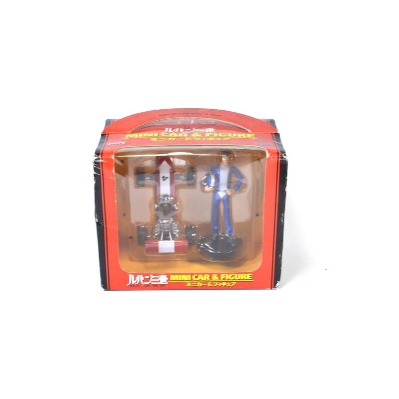 Banpresto Lupin the Third Mini car & Figure set