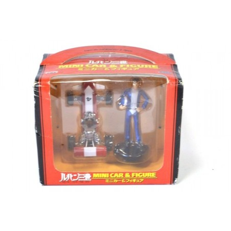 Banpresto Lupin the Third Mini car & Figure set