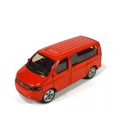 Volkswagen T5 Facelift Multivan, rouge