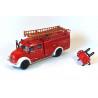 Magirus Rundhauber brandweer bluswagen
