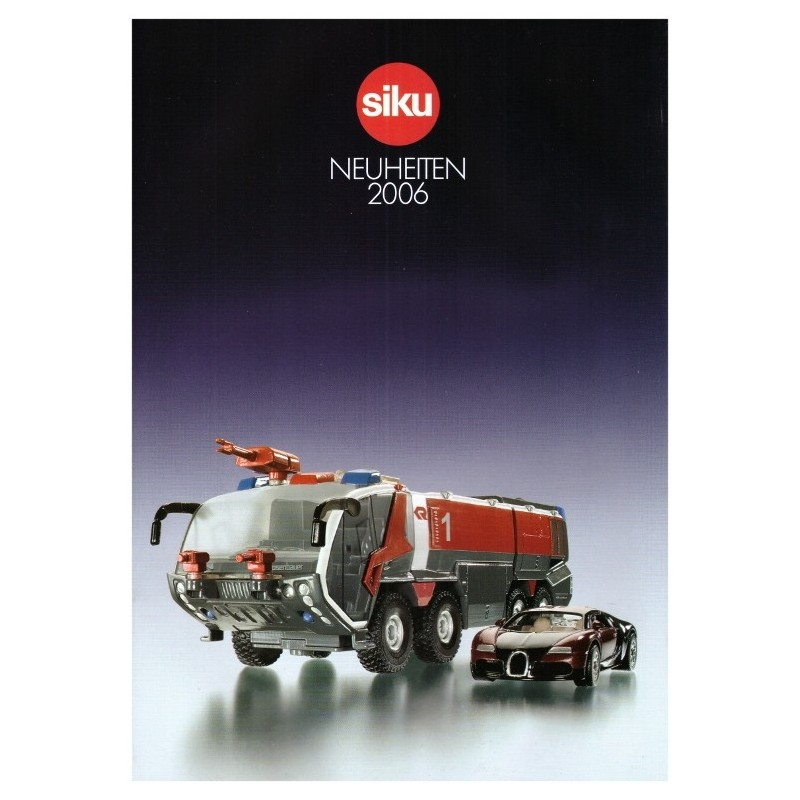 Siku nouvelles Catalogue 2006