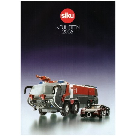 Siku neuheiten katalog 2006