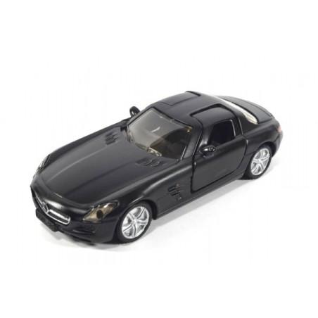Mercedes SLS mat zwart