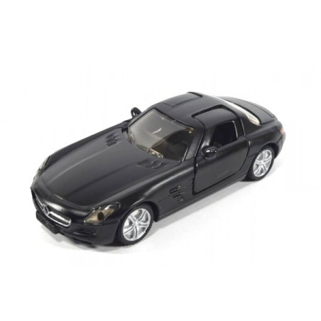 Mercedes SLS matt schwarz