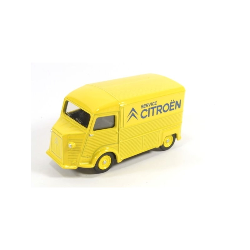 Citroën HY 1969, Service Citroën