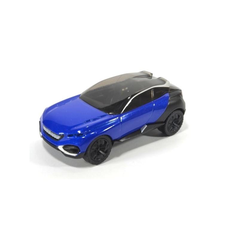 Peugeot Concept Car Quarz, metallic blau