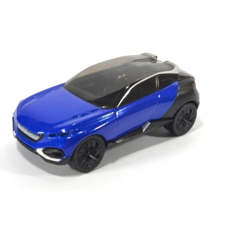 Peugeot Concept Car Quartz, metallic blue