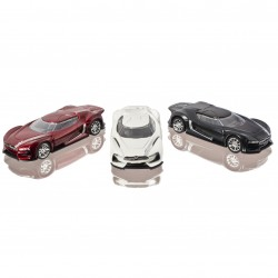 Citroën GT set van alle 3 modellen