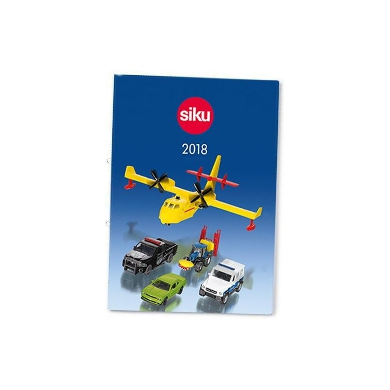Siku dealer catalogus 2018