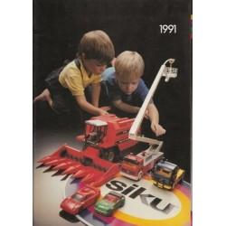 Siku catalogus A4 1991