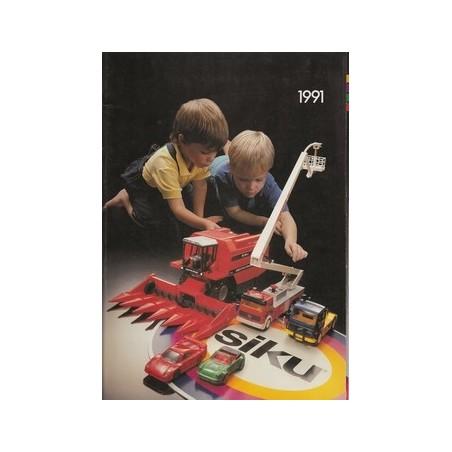 A4 Siku dealer catalogus 1991