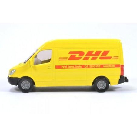 Mercedes Sprinter DHL sans empreinte sur la porte