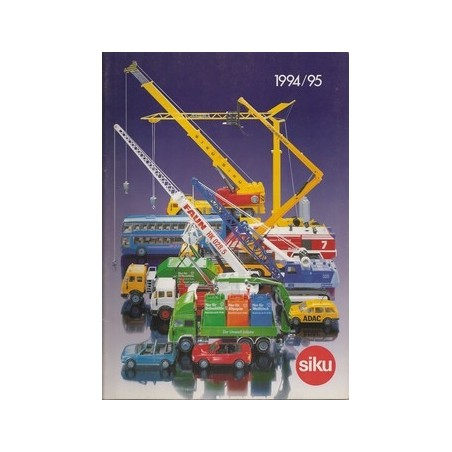 A4 Siku dealer catalogus 1994/95