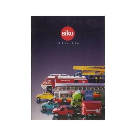A4 Siku dealer catalogus 1995/96