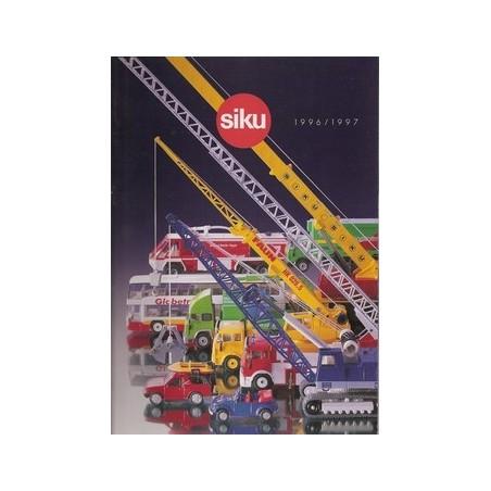 A4 Siku dealer catalogus 1996/97