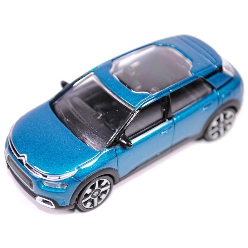 Citroën C4 Cactus bleu émeraude