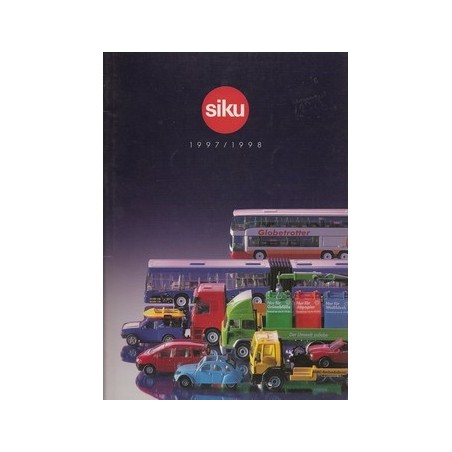 A4 Siku dealer catalogus 1997/98