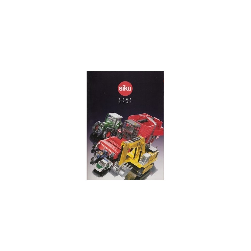 Siku catalogus A4 2000/01