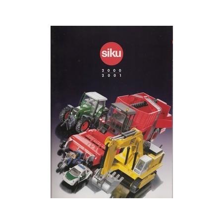 A4 Siku dealer catalogus 2000/01