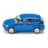 BMW X5, metallic blue