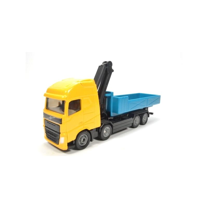 Volvo camion polybenne grue