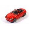 Mercedes SLK cabriolet, rood