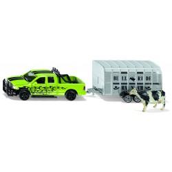 Dodge RAM 1500 met vee trailer