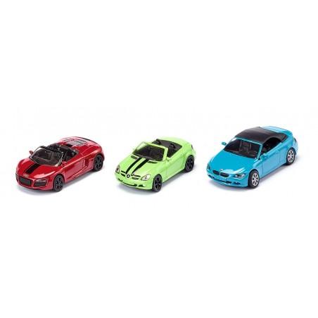 Set voitures cabriolets