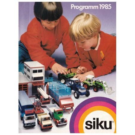 A6 Siku consumenten brochure 1985