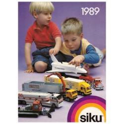 Siku brochure A6 1989