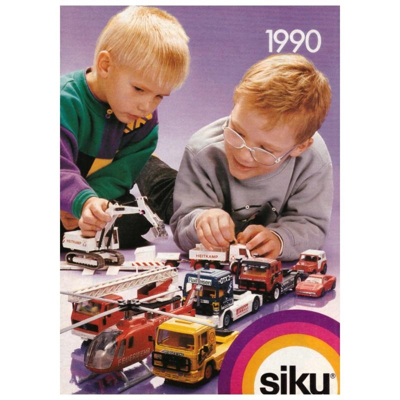 Siku brochure A6 1990