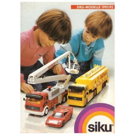 Siku brochure A6 1991/92