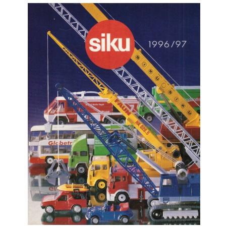 Siku brochure A6 1996/97