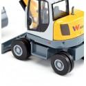 Siku 3560 Wacker Neuson EW65 mobile excavator