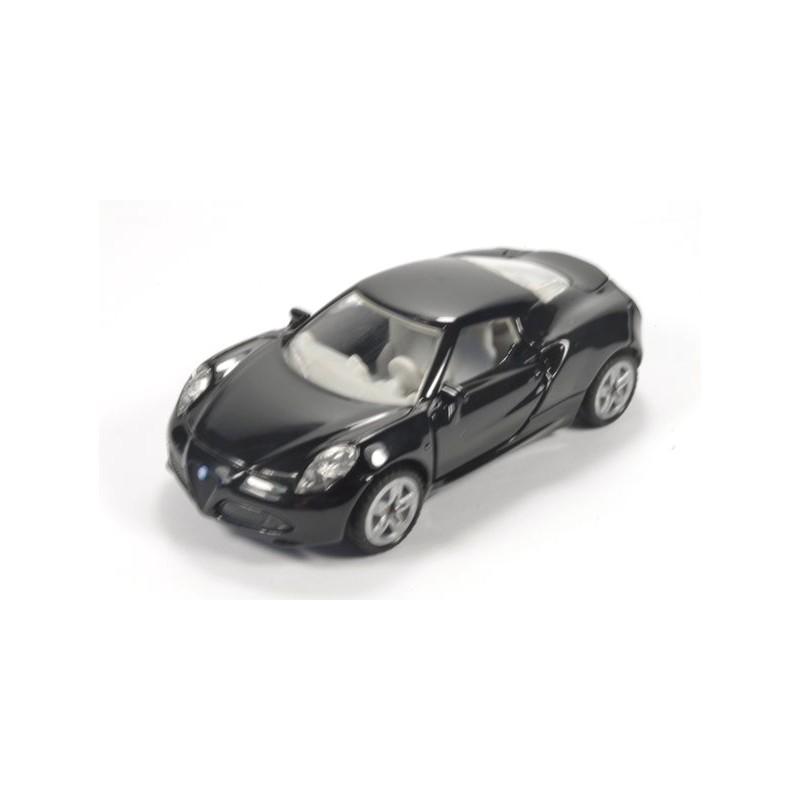 Alfa Romeo 4C, zwart