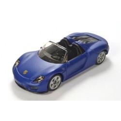 Porsche 918 Spyder, blau