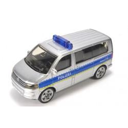 Volkswagen T5 Facelift Polizei with high blue light bar