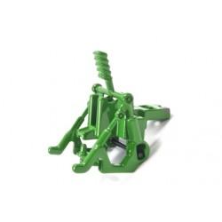 Rear coupling Siku tractors, John Deere green