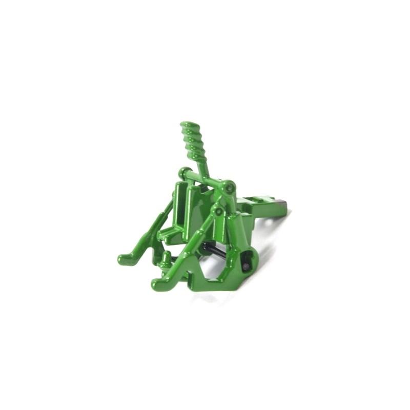 Heckkupplung Siku Traktoren, John Deere grün