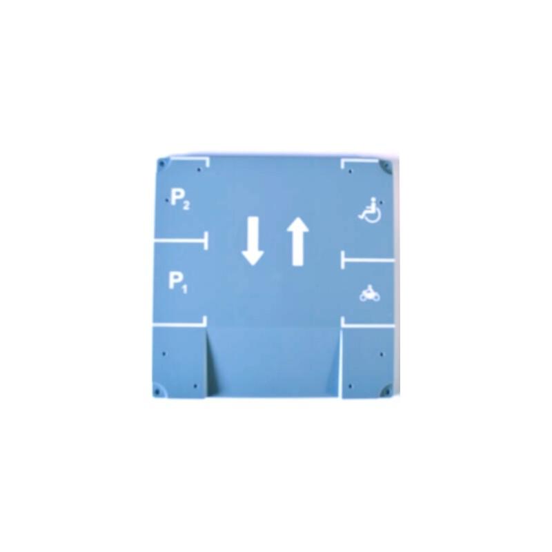 Set of separate base plates for Siku World