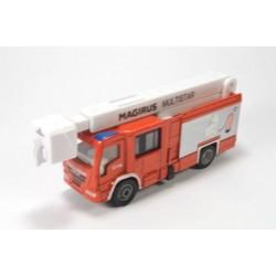 Magirus brandweerauto met telescoopmast
